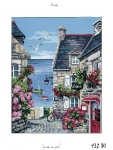 Royal Paris Tapestry/Needlepoint - West Country Village