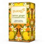Lemon Ginger & Manuka Honey Teabags