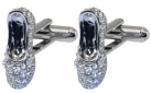 Crystal Slippers Cufflinks