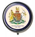 Diamond Jubilee Coat of Arms Pillbox