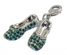 Emerald Slippers Charm