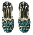 Emerald Slippers Earrings