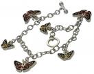 Flying Beauties Charm Bracelet