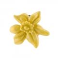 March Daffodil Small Brooch Pin