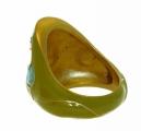 Mughal Ring - Yellow