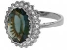 Princess Kate Ring (silver toned)