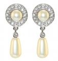 Queen Elizabeth II's Jubilee Pearl Drop Earrings