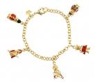 Royal Teddy Charm Bracelet