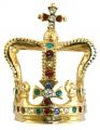 St Edward's Crown Brooch