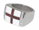 St George's Flag Ring