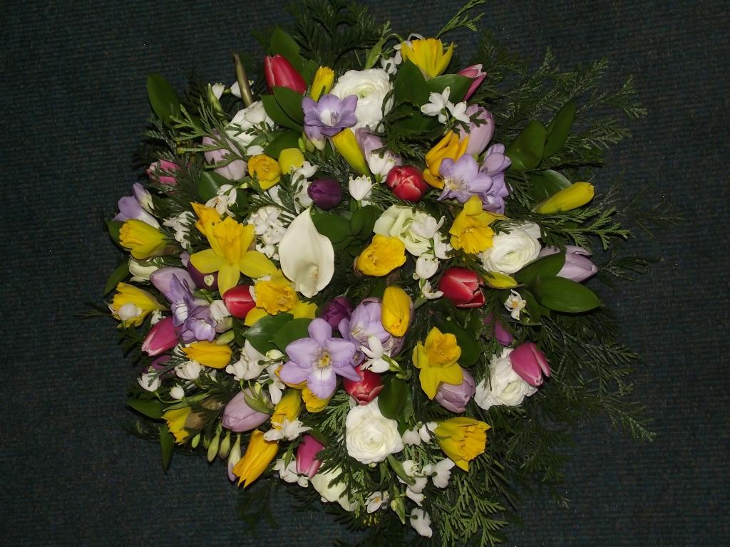Spring has sprung garlands florists ltd