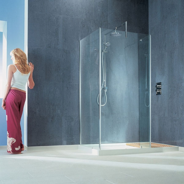 Oben Shower Collection Incridible Stainless Steel Round