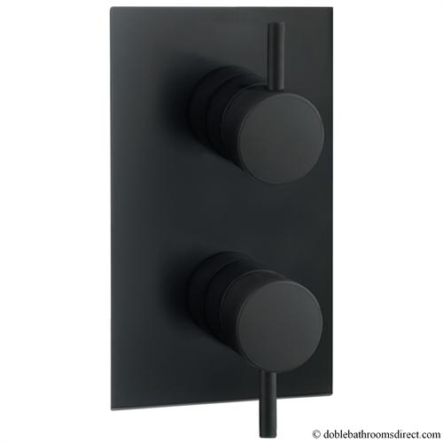 hey joe black thermostatic shower valve crosswater thermostatic valves recc. Black Bedroom Furniture Sets. Home Design Ideas