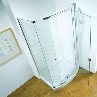 Bowed Hinged Doors Kudos Infinite B P M Bathrooms Ltd