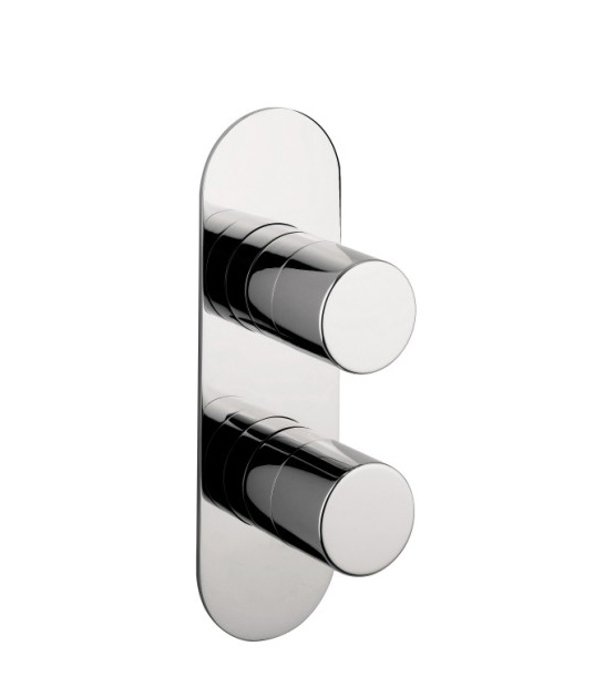 CENTRAL THERMOSTATIC SHOWER VALVE WITH TWO WAY DIVERTER