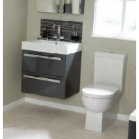 ... Ceramic Wash Basin Double Drawer Unit 60   80