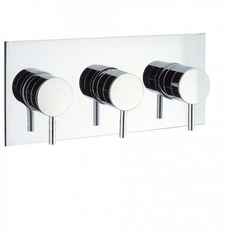 Great ELITE THERMOSTATIC SHOWER VALVE WITH 3 WAY DIVERTER