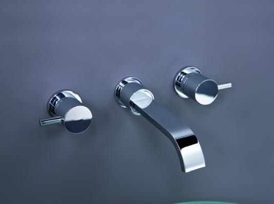 ELIXIR CLASSIC DESIGN WALL MOUNTED BASIN AND BATH FILLER TAP