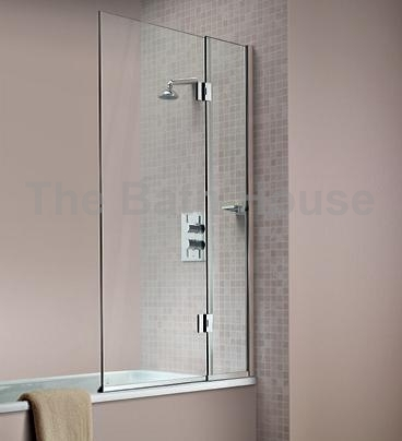 hinged bath screen matki bath screen collection b p m bathrooms ltd. Black Bedroom Furniture Sets. Home Design Ideas