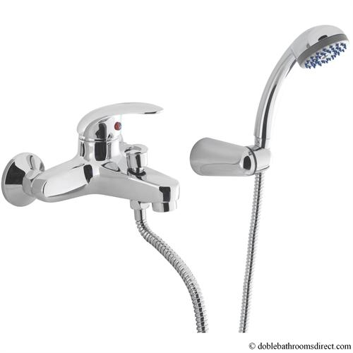 Prima Bath Shower Mixer With Kit Crosswater Prima B P