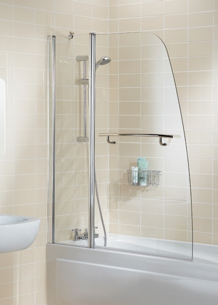 Shower Screens For Baths sculpted bath screens - lakes bath screens - b.p.m bathrooms ltd