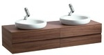 160CM VANITY UNIT X2 DROP IN BASIN