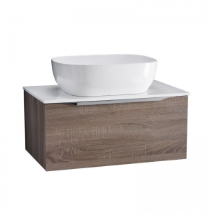 700MM WALL MOUNTED WASH UNIT EXCLUDING BASIN AND WORKTOP.