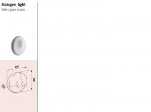 Alessi Dot halogen light