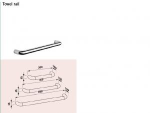 Alessi Dot towel rail