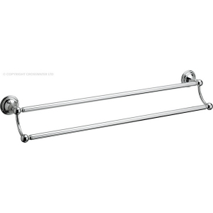 BELGRAVIA DOUBLE TOWEL RAIL