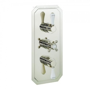 BELGRAVIA RECESSED LEVER 2000 THERMO NICKEL LEVER VALVE.