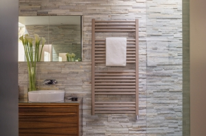 Bisque Deline 1226 x 500 Electric Radiator