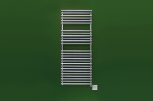 Bisque Straight fronted 1196 x 496 Towel Rail