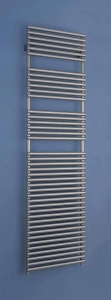 Bisque Straight fronted 1876 x 596 Electric Towel Rail