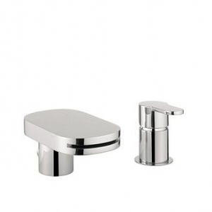 CENTRAL BATH SHOWER MIXER WITH DIVERTER