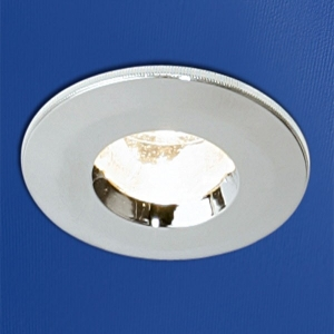 CHROME FIRE RATED SHOWERLIGHT