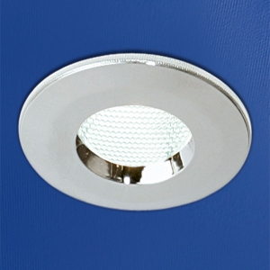 CHROME LOW ENERGY FIRE RATED SHOWERLIGHT