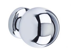 Chrome Round Knob