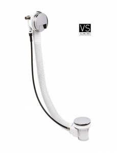 Crosswater Bath Filler with Pop-Up-Waste