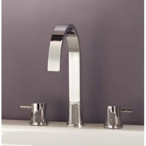 ELIXIR CLASSIC DESIGN THREE HOLE BASIN FILLER TAP
