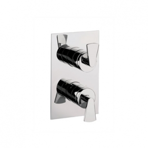 ESSENCE THERMOSTATIC SHOWER VALVE WITH 2 WAY DIVERTER