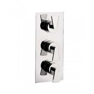 ESSENCE THERMOSTATIC SHOWER VALVE WITH 3 WAY DIVERTER