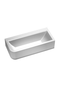 Form rectangular bath 1800mm right corner
