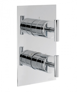 GLIDE THERMOSTATIC SHOWER VALVE WITH 2 WAY DIVERTER
