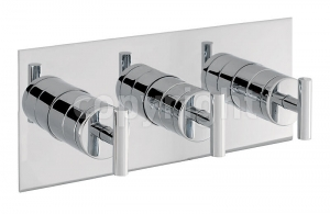 GLIDE THERMOSTATIC SHOWER VALVE WITH 3 WAY DIVERTER