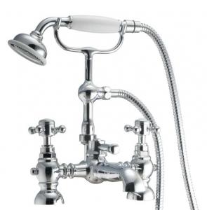 HARROGATE BATH SHOWER MIXER WITH CRADLE