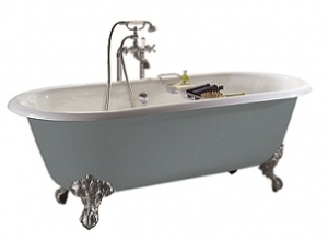 Heritage Baby Buckingham Cast Iron Bath