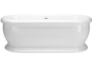 Heritage Derrymore Freestanding Acrylic Double Ended Roll Top Bath
