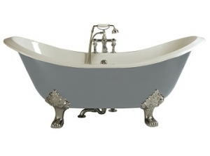 Heritage Devon Cast Iron Double Ended Bath