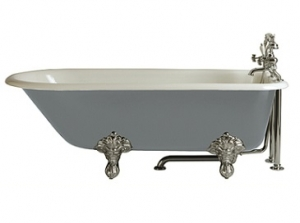 Heritage Essex Cast Iron Single Ended Bath